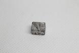 Заготовка-вставка з метеорита Seymchan, 3,37 г, із сертифікатом автентичності, фото №2