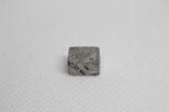 Заготовка-вставка з метеорита Seymchan, 3,37 г, із сертифікатом автентичності, фото №6