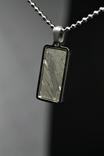 Кулон із залізо-кам'яним метеоритом Seymchan, із сертифікатом автентичності, фото №5
