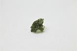 Імпактне тіло, тектит Moldavite, 0,4 грам із сертифікатом автентичності, фото №2