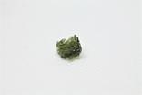 Імпактне тіло, тектит Moldavite, 0,4 грам із сертифікатом автентичності, фото №7