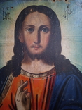 Ікона Ісус Христос Вседержитель 16.5×24,5 смм, фото №8
