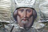 Икона Николай Чудотворец 40/32 см., фото №6