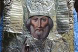 Икона Николай Чудотворец 40/32 см., фото №9