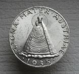 5 шиллингов 1935 г. Австрия, серебро, фото №3