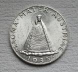 5 шиллингов 1935 г. Австрия, серебро, фото №4