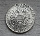 5 шиллингов 1935 г. Австрия, серебро, фото №7