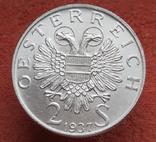 """2 шиллинга 1937 г. Австрия, """"Карлскирхе"""" серебро, фото №7"""
