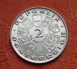 "2 шиллинга 1930 г. Австрия, ""Вальтер фон дер Фоельвайде"", серебро, фото №7"