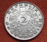 "2 шиллинга 1930 г. Австрия, ""Вальтер фон дер Фоельвайде"", серебро, фото №9"