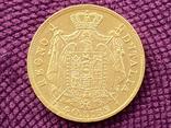40 лир. Королевство Италия. 1814г. (вес 12,87г. GOLD 900), фото №3