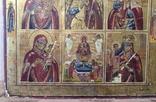 Икона - девятичастник Св.Михаил,обр.Богоматери...., фото №11