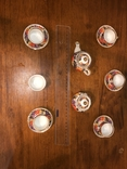 Детский набор ручной росписи и соусница, фото №5