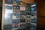 Аудио кассеты 135 штук + бонус аудиокассеты, фото №3