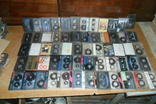 Аудио кассеты 135 штук + бонус аудиокассеты, фото №5