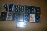 Аудио кассеты 135 штук + бонус аудиокассеты, фото №8