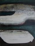 """Абстрактная картина """"Рисовые поля"""", холст, масло, 40х50см, фото №2"""