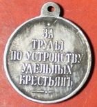 За труды по устройству удельных крестьян  копия, фото №3