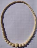 Бусы слоновая кость(лот 2)., фото №4