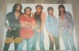 Постер Dr Alban / Bon Jovi двохсторонній 40,7х28,3 см з журналу Popcorn, фото №3