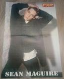 Постер Sean Maguire / Stay-C (Twenty 4 Seven) двохсторонній 40,7х28,3 см з журналу Poplife, фото №2