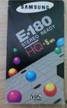 Відеокасета Samsung E-180 HQ +5min, фото №2