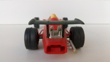 Машинка гонка красная (№ 1), фото №5