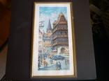 Картина французького художника париж 1971 г подпись, фото №2