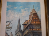 Картина французького художника париж 1971 г подпись, фото №3