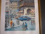 Картина французького художника париж 1971 г подпись, фото №5