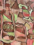 Вино, 83х73см, авт.П.Бойко, фото №4