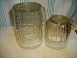 Большой (0,5 литра) и малый (0,25 литра) пивные бокалы (СССР) одним лотом, фото №3