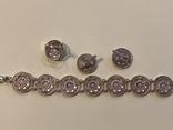Гарнитур. Серебро и золото, фото №5