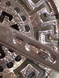 Гарнитур. Серебро и золото, фото №7