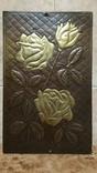 Картина, медь, роза, фото №2