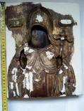 Старинная Икона в деревянном окладе ( Митрофан Воронежский ), фото №5