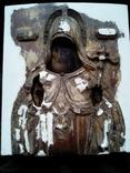 Старинная Икона в деревянном окладе ( Митрофан Воронежский ), фото №13