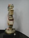"""Статуэтка """"Мама"""", слоновая кость, 20-30-е гг. XX в., авторская работа, Италия, фото №4"""
