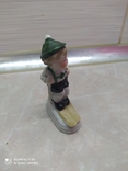 Статуэтка Мальчик на лыжах, фото №5
