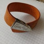 Кожаный браслет Diesel, фото №5