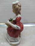 Статуэтка Дама с розами, фото №3