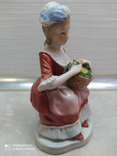 Статуэтка Дама с розами, фото №5