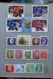 Марки США, Канада, Европа 350 шт, фото №3