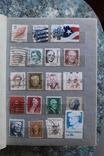 Марки США, Канада, Европа 350 шт, фото №6