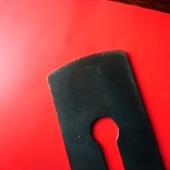 Железко Нож Лезвие рубанка 1963 год Интересное клеймо, фото №4