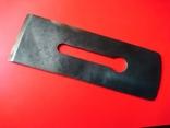Железко Нож Лезвие рубанка 1963 год Интересное клеймо, фото №6