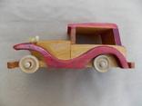 Машинка деревянная, фото №2