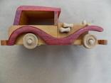 Машинка деревянная, фото №3