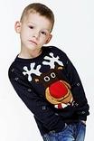 В'язаний светр для хлопчика різдвяний (101), фото №2