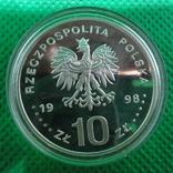 10 злотих 1998 капсула, фото №3